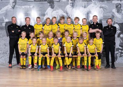 Saaristokaupungin Lääkäriasema tukee lasten ja nuorten urheilua! Kuvassa KUPS11f8-joukkue